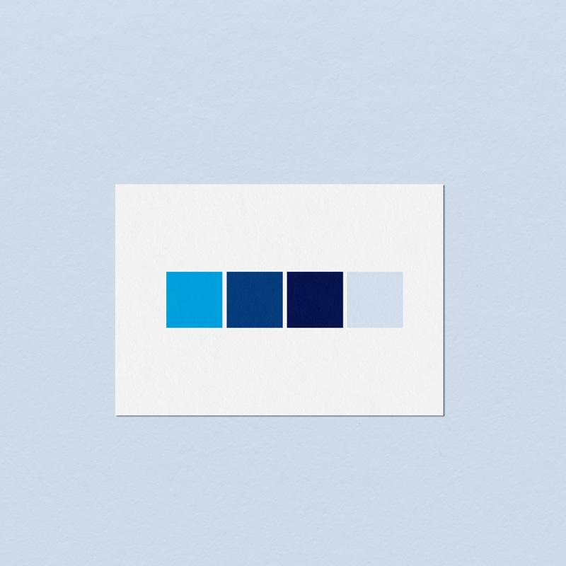 Farben für Blue Star Marketing