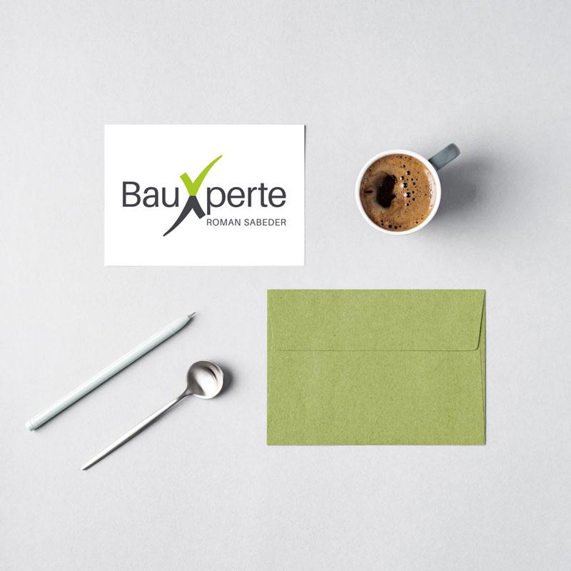 LogoDesign BauXperte Roman Sabeder