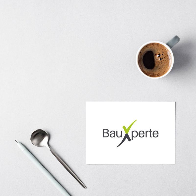 Projekt Logodesign für BauXperte Roman Sabeder