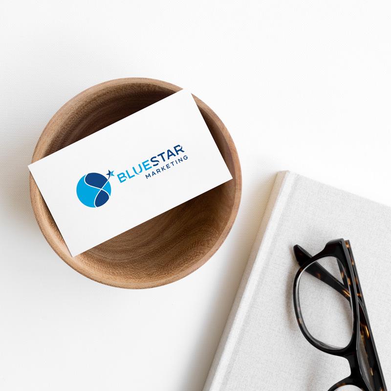Projekt Corporate Redesign Bluestar Marketing