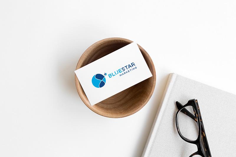 Logodesign für BlueStar Marketing