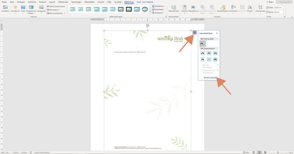 So kannst du dein Briefpapier ganz einfach als Vorlage in Word verwenden.