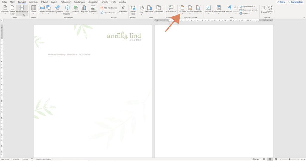 So nutzt du dein Briefpapier in Word: Schritt-für-Schritt-Anleitung